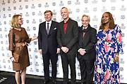 Premiere van de film Double Play op het International Film Festival Rotterdam (IFFR). <br /> <br /> Premiere of the movie Double Play at the International Film Festival Rotterdam (IFFR).<br /> <br /> Op de foto / On the photo:  Janneke Staarink, Koning Willem-Alexander, Bero Beyer, Gregory Elias en Lisa Cortes