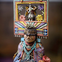 An intricately-carved kachina by Hopi artist Ronald Honyouti claimed the title of Best in Show at the Gallup Inter-tribal Indian Ceremonial arts exhibit.
