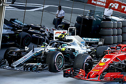 September 29, 2018 - Sochi, Russia - Motorsports: FIA Formula One World Championship 2018, Grand Prix of Russia, .Parc ferme, car of #77 Valtteri Bottas (FIN, Mercedes AMG Petronas Motorsport) (Credit Image: © Hoch Zwei via ZUMA Wire)