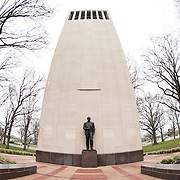 The Taft Carillon, between the US Capitol Building and Union Station, is dedicated to former Senator Robert Taft, often known as Mr. Republican.