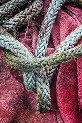 Fishermen ropes,  Clew Bay, County Mayo Ireland