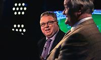 Fotball<br /> 21.01.2007<br /> Manager-legende Ron Atkinson i Canal+ studio med Dag Solheim <br /> <br /> Foto: Kasper Wikestad, Digitalsport