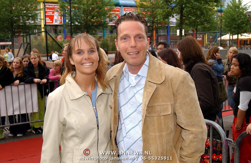 Friends Event, Smaakpolitie presentator Rob Geus en vriendin