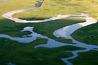 Flat Creek on the National Elk Refuge, Jackson Hole, Wyoming.