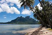 French Polynesia, Bora Bora, Mount Otemanu