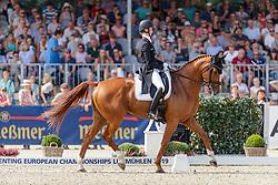 AUFFARTH Sandra (GER), Viamant du Matz<br /> Luhmühlen - LONGINES FEI Eventing European Championships 2019<br /> Teilprüfung Dressur 4. Teil CCI4*<br /> Dressage CH-EU-CCI4*-L: 4th part<br /> 30. August 2019<br /> © www.sportfotos-lafrentz.de/Stefan Lafrentz