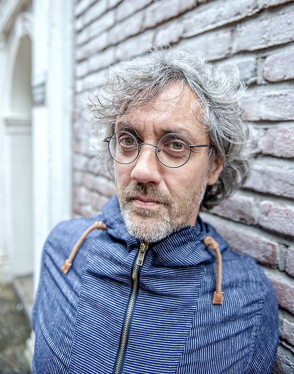 Netherlands. Amsterdam, 22-08-2016. Copyright/Photo: Patrick Post.  Portrait of filmmaker Floris-Jan van Luyn.
