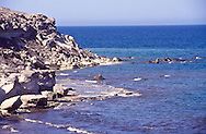 Caspian Sea rich in oil and Sturgeon. Source of world-famous Beluga Cavair, Kazakhstan