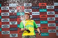 Australian's Daniel Sanders during the last day World trophy class of the FIM international six days of enduro 2016 in Navarra, Spain. October 11, 2016. (ALTERPHOTOS/Rodrigo Jimenez)
