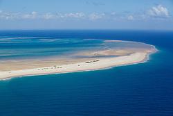 Island The Mozambique shoreline close to Ponta Du Ouro.
