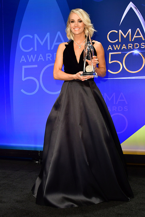 02 November 2016 - Nashville, Tennessee - Carrie Underwood. 50th Annual CMA Awards, CMA Awards 2016, Country Music's Biggest Night, held at Bridgestone Arena.