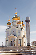 The Cathedral of the Saviour's Transfiguration, Khabarovsk.Siberia, Russia