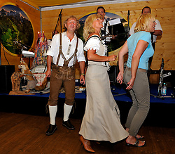 Eschbach Buam entertain the guests at Match Race goes Lederhose und Dirndl. Photo:Chris Davies/WMRT