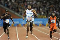 Friidrett<br /> IAAF Diamond League<br /> Brussel 16.09.2011<br /> Foto: PhotoNews/Digitalsport<br /> NORWAY ONLY<br /> <br /> Usain Bolt (JAM) pictured during 100m men