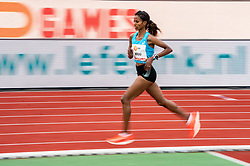 Mekdes Woldu in action on the 10000 meter during FBK Games 2021 on 06 june 2021 in Hengelo.