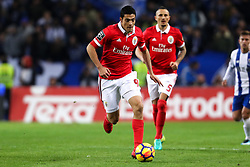 December 1, 2017 - Porto, Porto, Portugal - Benfica's Mexican forward Raul Jimenez in action during the Premier League 2016/17 match between FC Porto and SL Benfica, at Dragao Stadium in Porto on December 1, 2017. (Credit Image: © Dpi/NurPhoto via ZUMA Press)