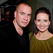 NLD/Amsterdam/20110324 - Boekpresentatie Chimaera van Xenia Kasper, Jeroen van Koningsbrugge en partner Marie Claire Witlox