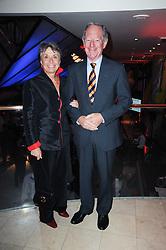 MICHAEL & CHRISTINE BUERK at the Costa Book Awards 2009 held at Quaglino's, 16 Bury Street, London SW1 on 26th January 2010.