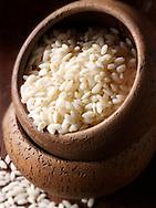 Alborio Risotto Rice - stock photos