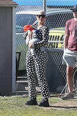 Amber Rose at her son's baseball team - 16 Feb 2020