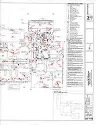 Sarah Gibbons Middle School Pre-Demolition Documentation. Key Plan Number 3 of 15