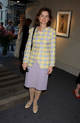 VISCOUNTESS MACKINTOSH OF HALIFAX at a private view of fashion designer Lindka Cierach's Couture Dresses drawn by Trudy Good held at the Belgravia Gallery, 45 Albemarle Street, London on 21st September 2005.<br />