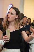 EMILIE PUGH;  Mollie Dent-Brocklehurst and Mark Davy host an evening in celebration of Future/Pace. London SW6, May 22 2018