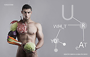 Personal Trainer Campaign for Somatonic ' You are what you eat'