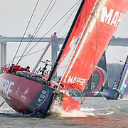 © Maria Muina I MAPFRE. MAPFRE at the In Port Race in Guangzhou. El MAPFRE durante la regata costera de Guangzhou.