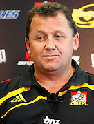 Waikato Chiefs coach Ian Foster. Super 14 rugby union. 2010 Rebel Sport Super 14 New Zealand squads naming press conference. Auckland, New Zealand. Wednesday 11 November 2009. © Copyright Photo: www.photosport.nz