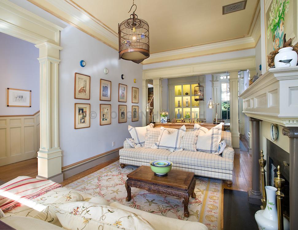 2909 P Street Washington DC Home Living Room