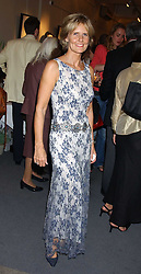 LINDKA CIERACH at a private view of fashion designer Lindka Cierach's Couture Dresses drawn by Trudy Good held at the Belgravia Gallery, 45 Albemarle Street, London on 21st September 2005.<br />