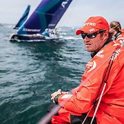 Leg 9, from Newport to Cardiff, day 01 on board MAPFRE. 20 May, 2018.
