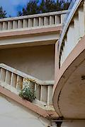 Steps at Plage de Port Vieux, Biarritz, Basque Country, France