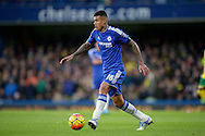 Kenedy of Chelsea in action. Barclays Premier league match, Chelsea v Norwich city at Stamford Bridge in London on Saturday 21st November 2015.<br /> pic by John Patrick Fletcher, Andrew Orchard sports photography.
