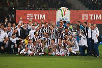 Celebrazione Coppa Juventus vince il trofeo, Celebration Cup Juventus Wins the trophy<br /> Roma 09-05-2018  Stadio Olimpico  <br /> Football Calcio Finale Coppa Italia / Italy's Cup Final 2017/2018 <br /> Juventus - Milan<br /> Foto Cesare Purini / Insidefoto