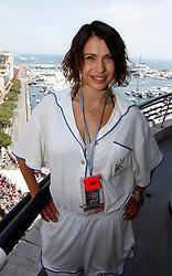 MONTE-CARLO, MONACO - Sunday, May 24, 2009: German actress Jana Pallaske during the Monaco Formula One Grand Prix at the Monte-Carlo Circuit. (Pic by Juergen Tap/Hoch Zwei/Propaganda)