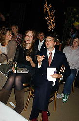 BEN & KATE ROTHSCHILD at an exclusive evening featuring the greatest talents in fashion today in aid of the African children who have been affected bt the AIDS epidemic held at the Chelsea Gardener, Sydney Street, London on 20th September 2004<br /><br />NON EXCLUSIVE - WORLD RIGHTS