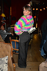 EMILY WELLER at a party to celebrate the launch of fashion retailer WeKoko.com held at Sketch, 9 Conduit Street, London on 13th April 2016.