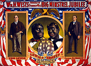 Wm. H. West's Big Minstrel Jubilee c1898