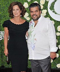 (L-R) Marcia Gay Harden and Luis Guzman together at the 2017 CBS Television Studios Summer Soiree TCA Party held at the CBS Studio Center – New York Street in Studio City, CA on Tuesday, August 1, 2017. (Photo By Sthanlee B. Mirador) *** Please Use Credit from Credit Field ***