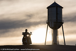 The Buffalo Chip water tower during the annual Sturgis Black Hills Motorcycle Rally. SD, USA. Thursday, August 11, 2016. Photography ©2016 Michael Lichter.