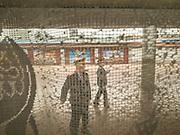 Gangu train station. Life in the train from Hong Kong to Urumqi, Xinjiang.