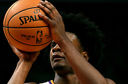 October 21, 2017 - Los Angeles, California, U.S. - Phoenix Suns forward Josh Jackson shoots a free-throw against the Los Angeles Clippers in the first quarter during an NBA basketball game at the Staples Center on Saturday, Oct 21, 2017 in Los Angeles. .(Photo by Keith Birmingham, Pasadena Star-News/SCNG) (Credit Image: © San Gabriel Valley Tribune via ZUMA Wire)