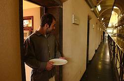 GHENT, BELGIM - OCT-22-2003 - Ghent prison  (PHOTO © JOCK FISTICK)