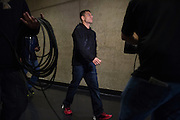DALLAS, TX - MARCH 13:  Rafael Dos Anjos arrives at the UFC 185 weigh-ins at the Kay Bailey Hutchison Convention Center on March 13, 2015 in Dallas, Texas. (Photo by Cooper Neill/Zuffa LLC/Zuffa LLC via Getty Images) *** Local Caption *** Rafael Dos Anjos