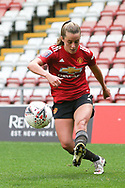 Portrait full length Manchester United midfielder Ella Toone (7) during the FA Women's Super League match between Manchester United Women and Manchester City Women at Leigh Sports Village, Leigh, United Kingdom on 14 November 2020.