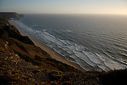 The southwest coast of Portugal, from cape St vincente, at the Algarve, until up to Zambujeira do Mar, at the Alentejo, is said to be among the most unspoiled coastlines of Europe. Although the touristic pressure is already very obvious at some spots, there are still plenty of beaches with almost no <br /> human marks. Cordoama is a beach west of Vila do Bispo, accessible through a track that goes up and donw the surrounding hills. It is a strong surfers spot.