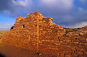 Evening light on Lomaki Ruins, Wupatki National Monument, Arizona