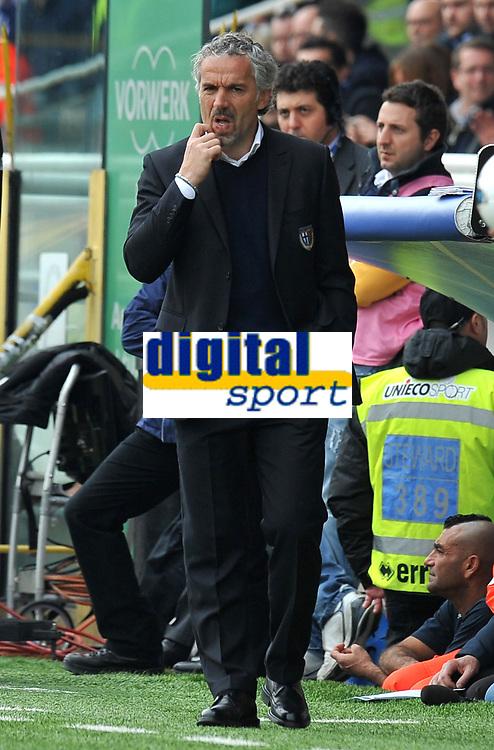 "Roberto DONADONI (Parma) <br /> Parma 04/03/2012 Stadio ""Ennio Tardini""<br /> Serie A 2011/2012<br /> Football Calcio Parma Vs Napoli<br /> Foto Insidefoto Alessandro Sabattini"